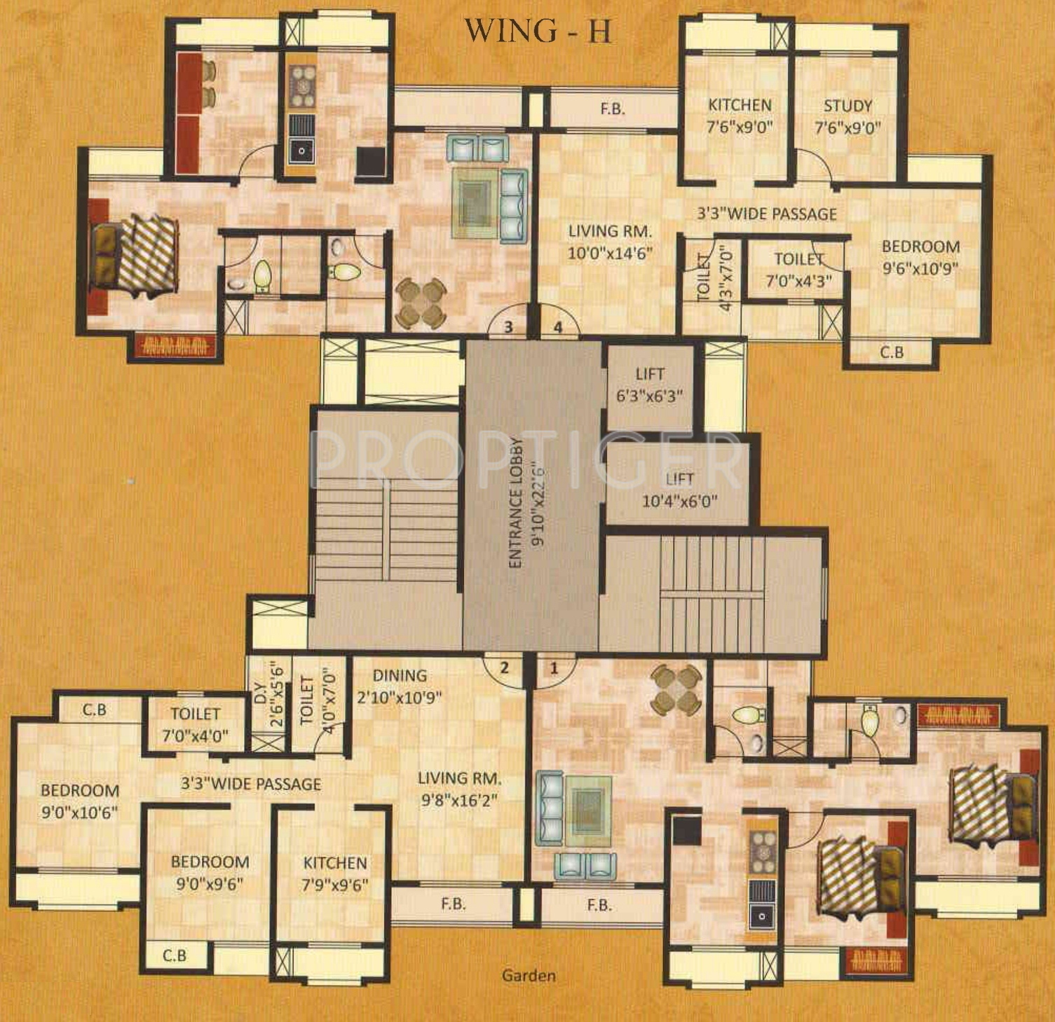 1100 sq ft 2 bhk 2t apartment for sale in madhav shreeji for 1100 sq ft apartment floor plan