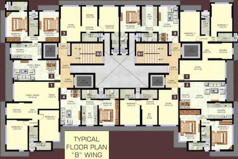 Images for Cluster Plan of Ashoka Swaroop Residency