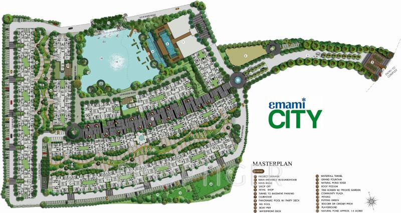 city Images for Master Plan of Emami City