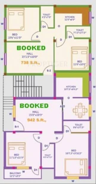 Images for Cluster Plan of ARRR Jall Naicken Street
