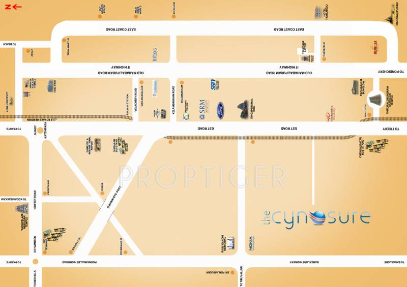vip-housing-and-properties cynosure Location Plan