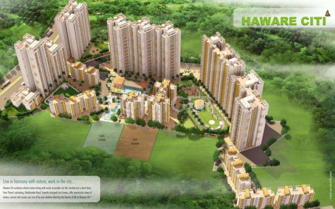 haware-citi 2380 sqft 4 bhk Apartment DCNPL Pvt Ltd Hills Vistaa Other