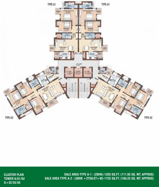 Images for Cluster Plan of Jaypee Garden Isles