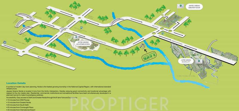 Images for Location Plan of Jaypee Garden Isles