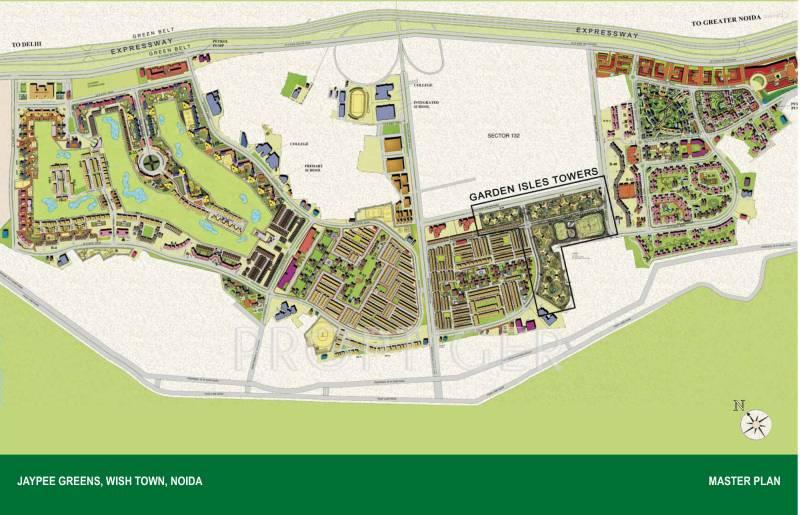 Images for Master Plan of Jaypee Garden Isles