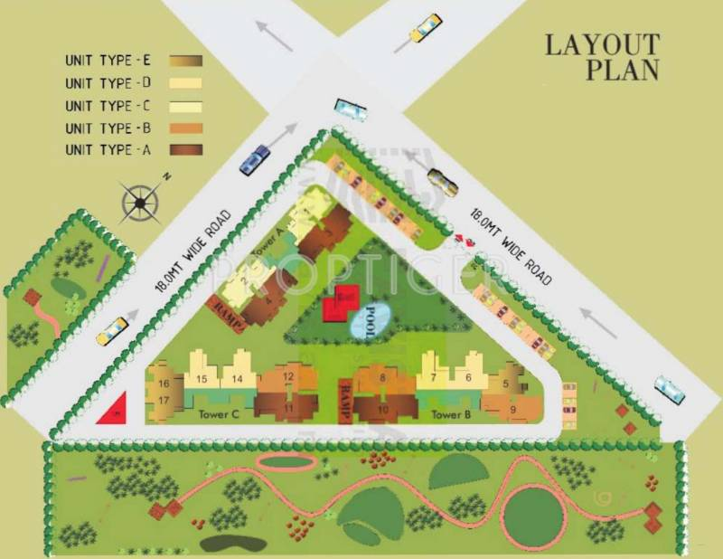 Images for Layout Plan of Prateek Fedora