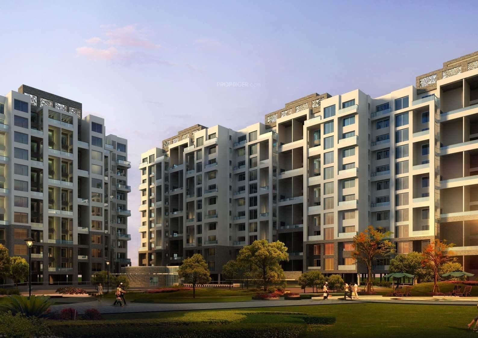 Main elevation image 6 of kolte patil developers langston for Langston builders