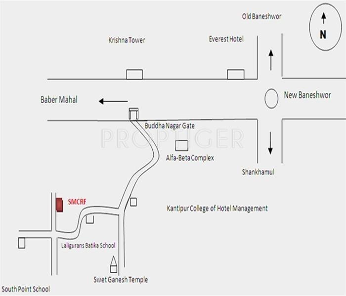 Images for Location Plan of Yuga Sundara Vihar