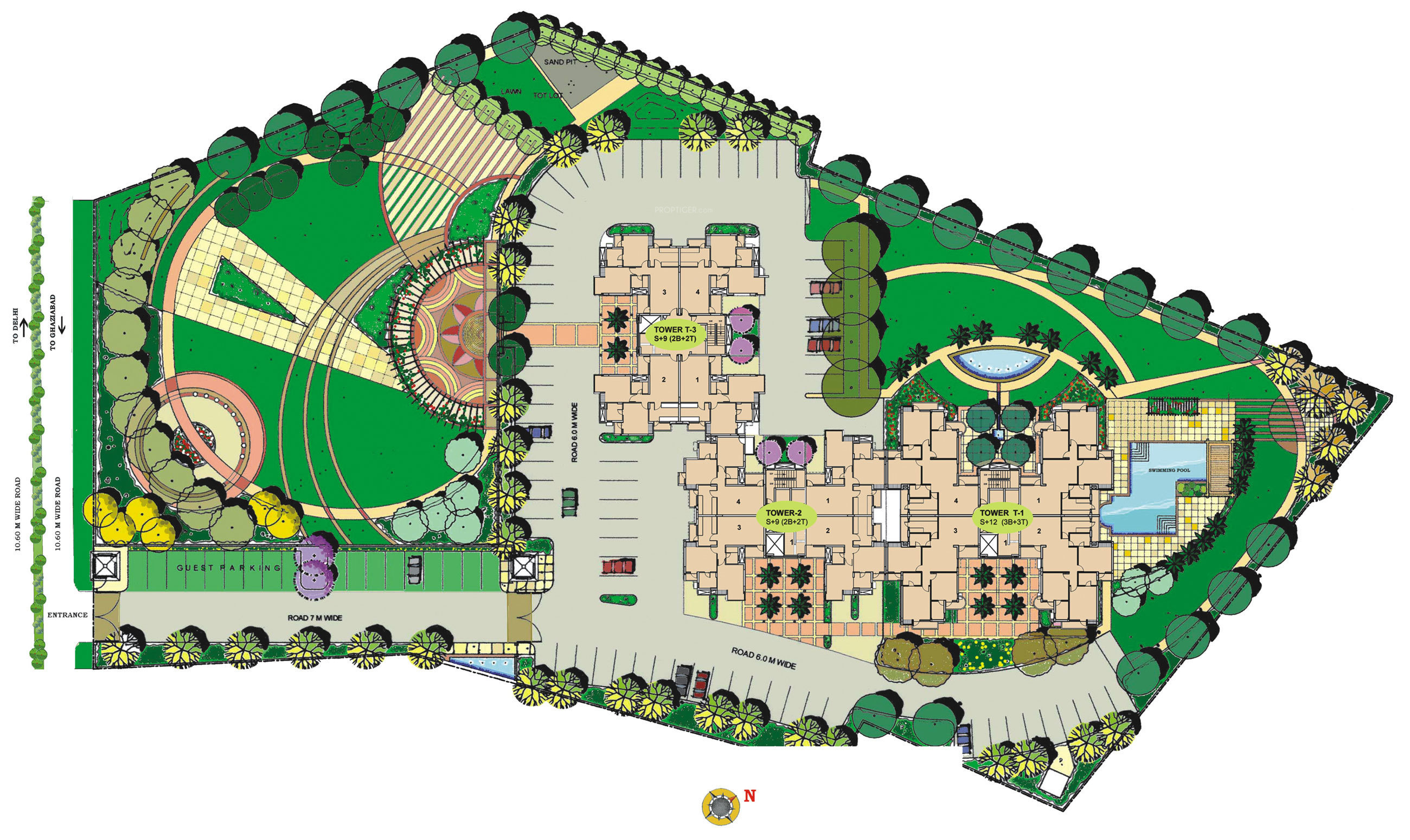 Parsvnath sterling in neelmani colony ghaziabad price for Sterling plan
