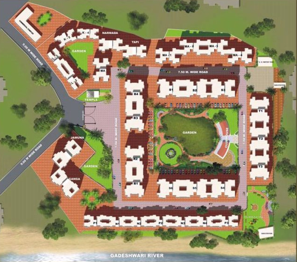 1080 Sq Ft 2 BHK 2T Apartment For Sale In Moraj Infratech