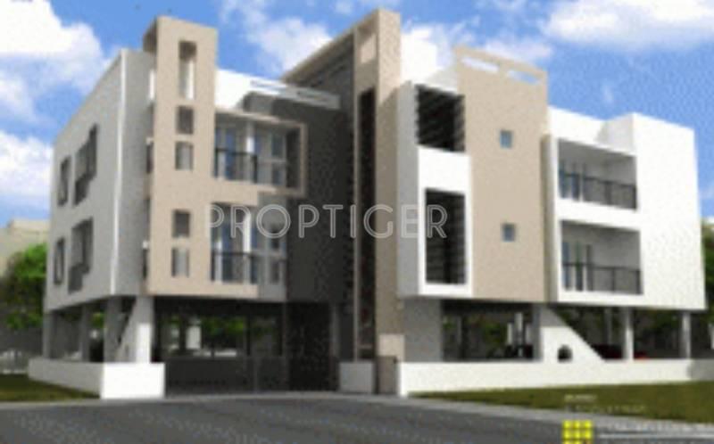 Vijay Builders Gayathri Garden Elevation