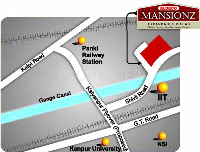 mansionz Images for Location Plan of Eldeco Mansionz