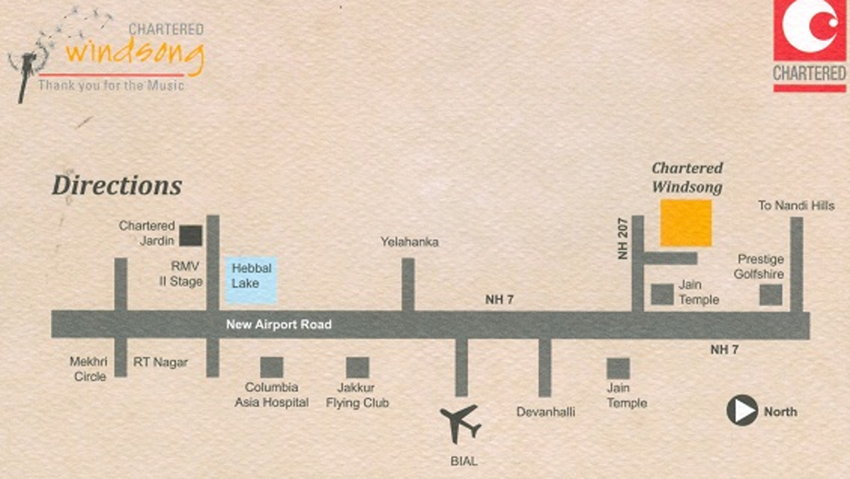 2127 sq ft plot for sale in chartered windsong devanahalli for Windsong project floor plan