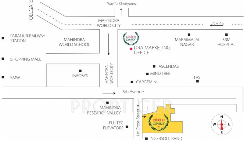 Images for Location Plan of DRA Pristine Pavilion