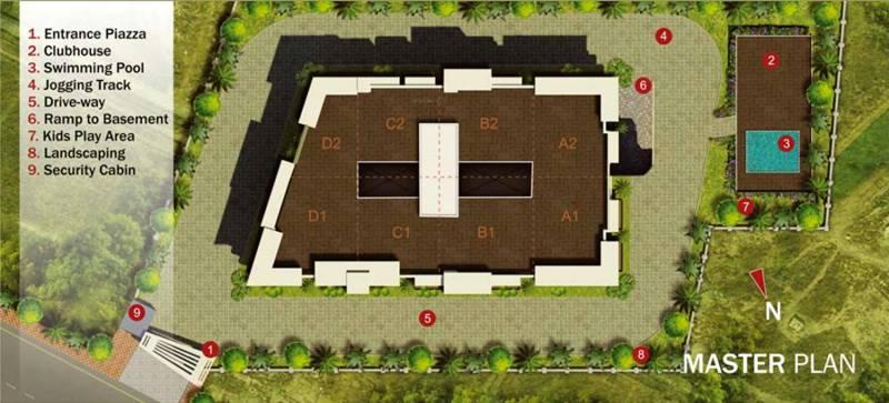 Images for Master Plan of Unishire Panamera