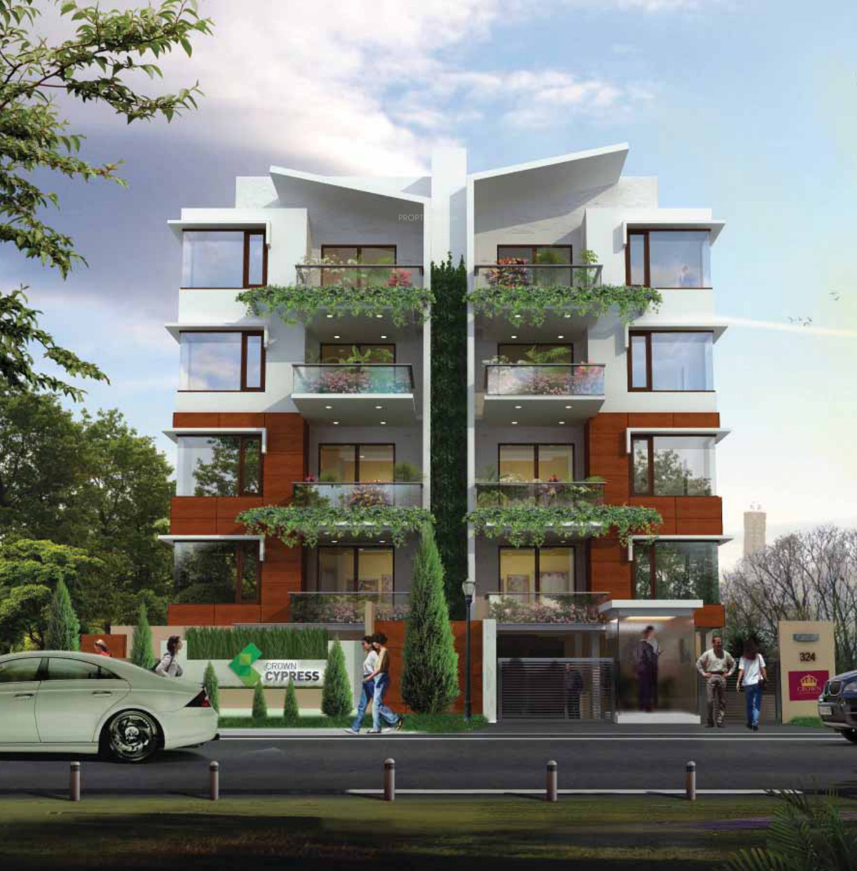 2075 Sq Ft 3 BHK 3T Apartment For Sale In Crown