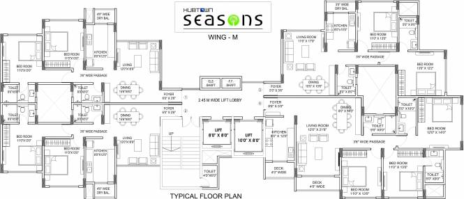 seasons Images for Cluster Plan of Hubtown Seasons