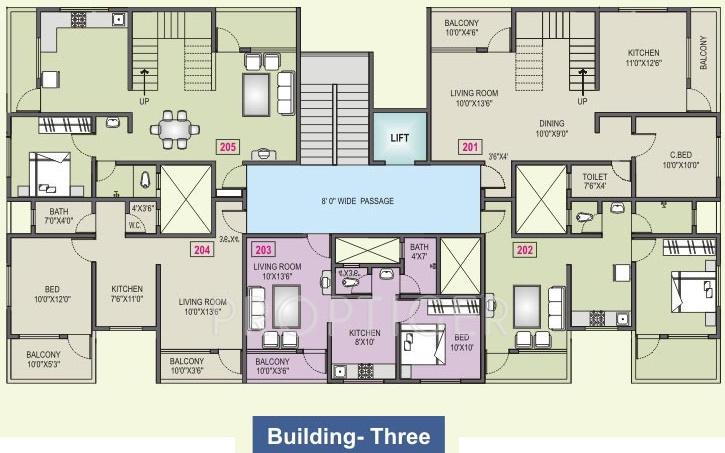 Images for Cluster Plan of RK Navratna
