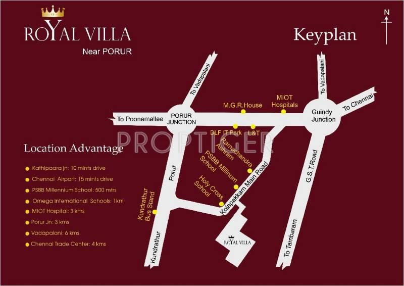 Images for Location Plan of Manju Royal Villa
