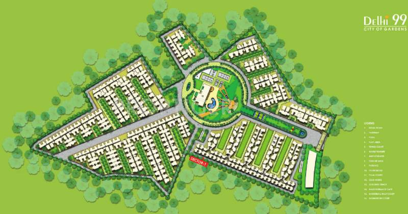 Images for Master Plan of MR Proview Delhi 99