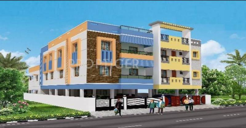 Images for Elevation of KVR Builders Ganga Cauvery