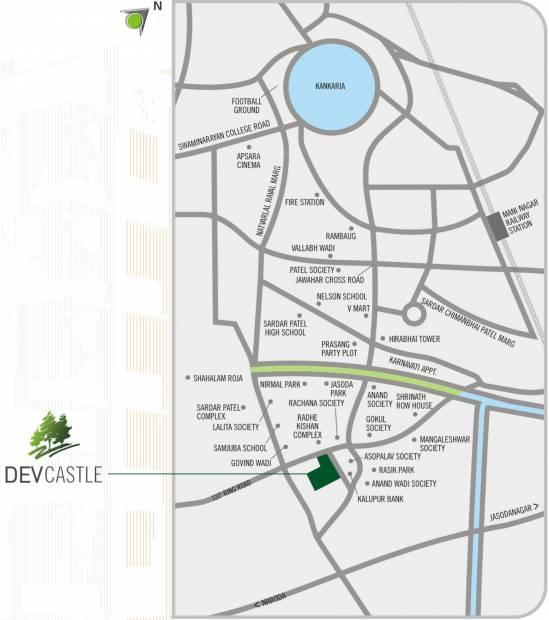 Images for Location Plan of Dev Dev Castle