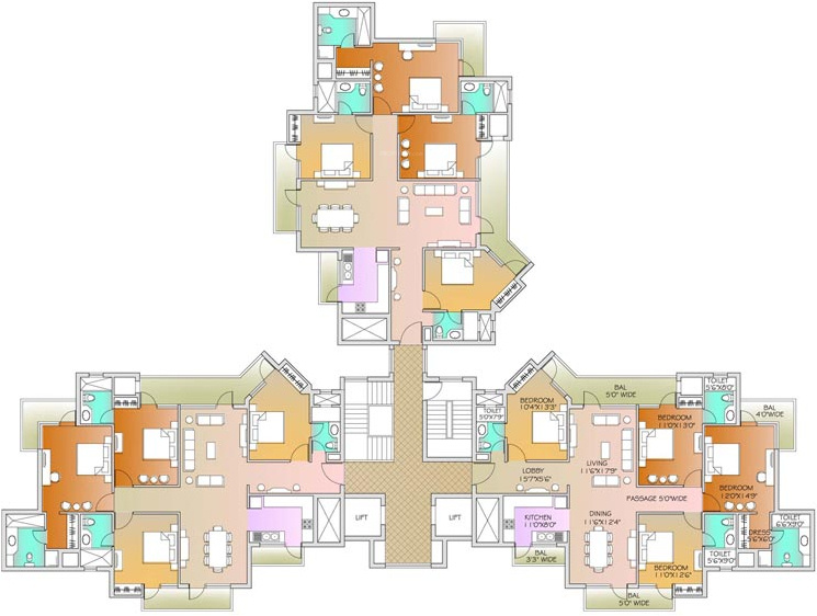 Images for Cluster Plan of Parsvnath Exotica