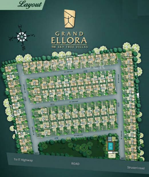 Images for Layout Plan of VIP Grand Ellora