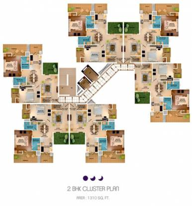 Images for Cluster Plan of Sushma Crescent