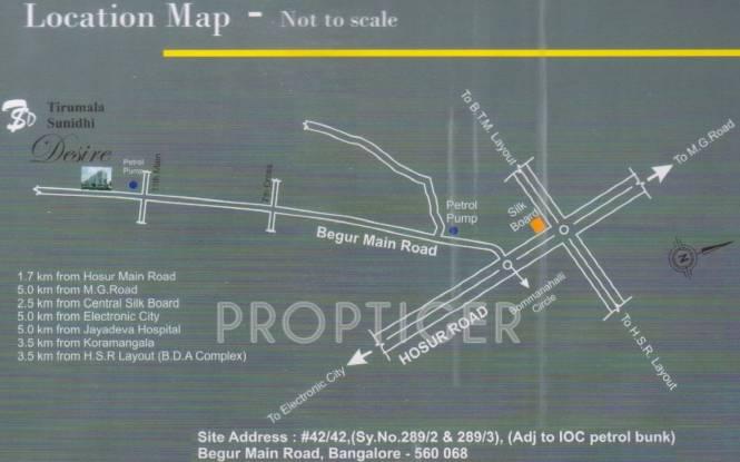 Images for Location Plan of Shree Tirumala Sunidhi Desire