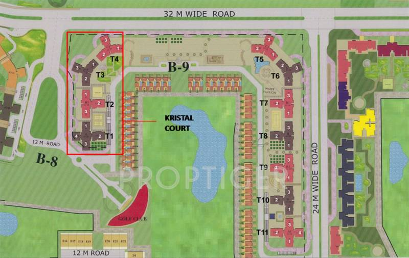 Images for Layout Plan of Jaypee Kristal Court