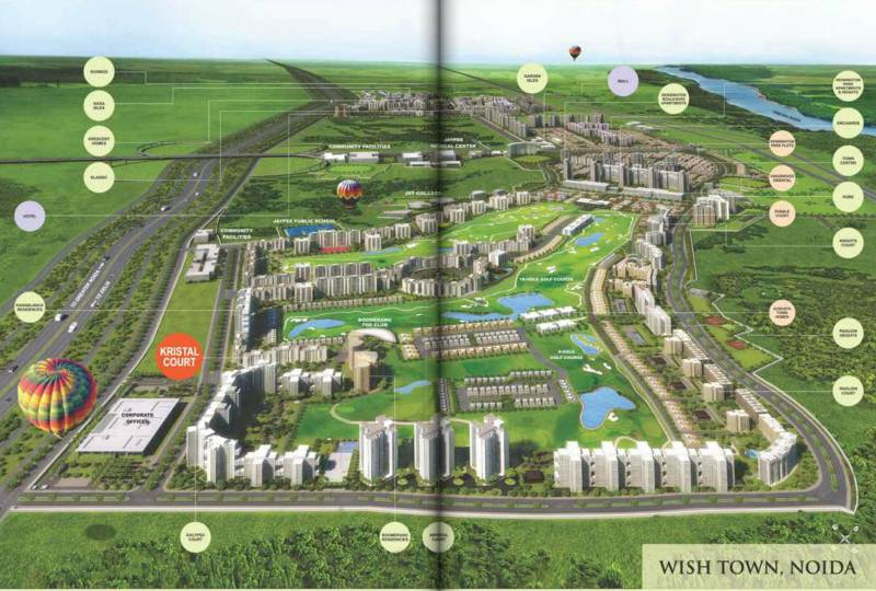 Images for Master Plan of Jaypee Kristal Court