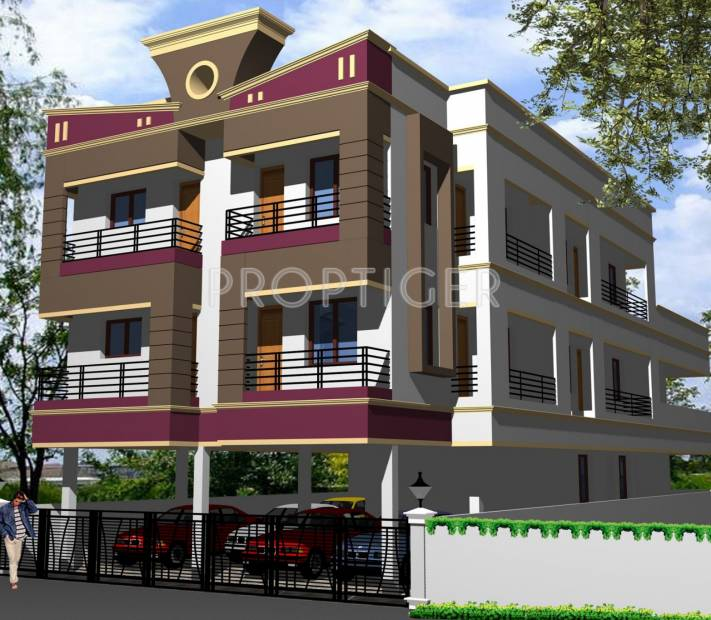 Images for Elevation of SR Srivarvi Apartments