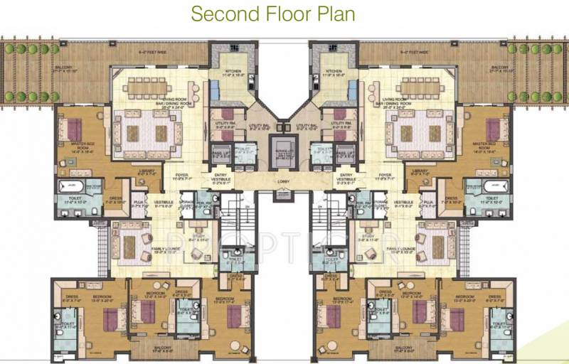 Images for Cluster Plan of Jaypee Pebble Court