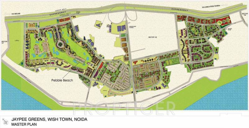 Images for Master Plan of Jaypee Pebble Court