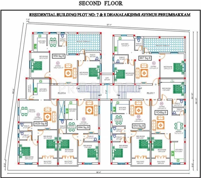 Images for Cluster Plan of Sekaran Clair Ville