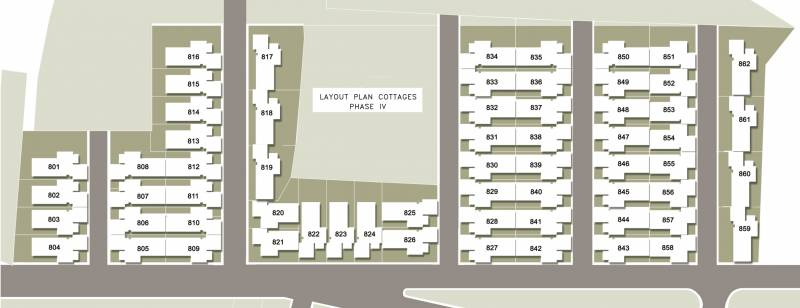 cottages Images for Layout Plan of Hiranandani Cottages