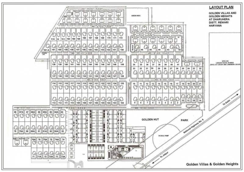 Images for Layout Plan of Landmark Golden Heights