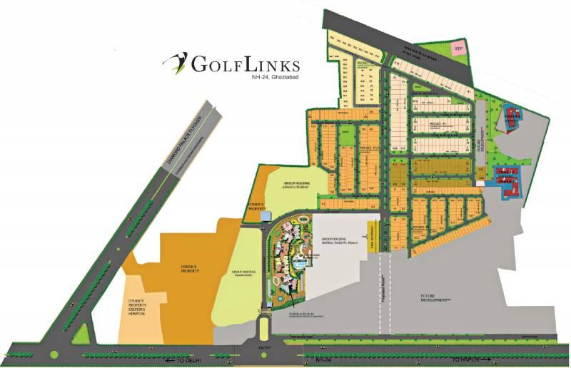 Images for Site Plan of LandCraft Golf Link Villas