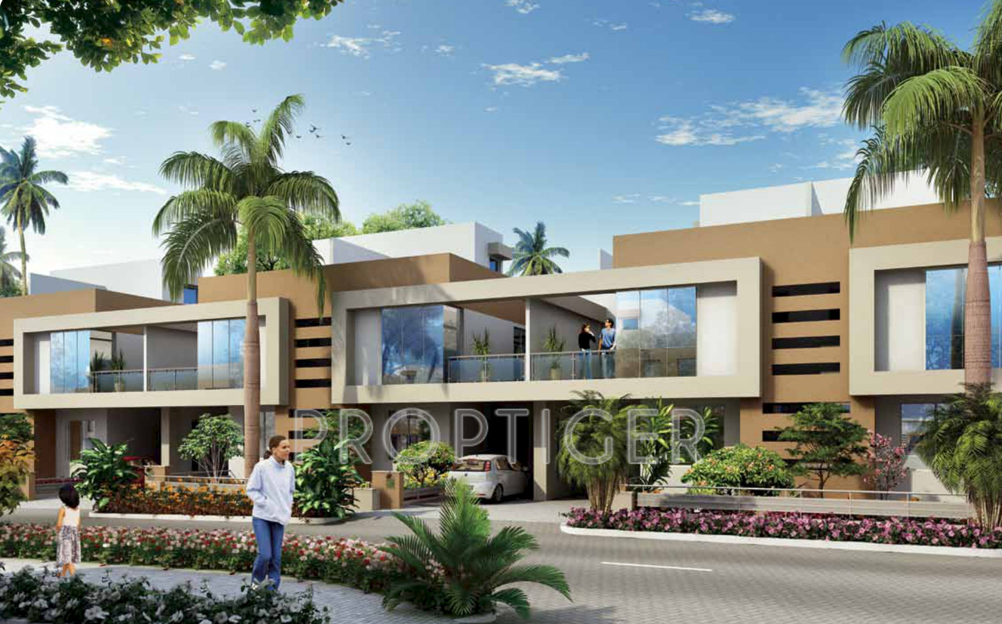 Kolte patil twin bungalows and villa in hinjewadi pune Twin bungalow plans
