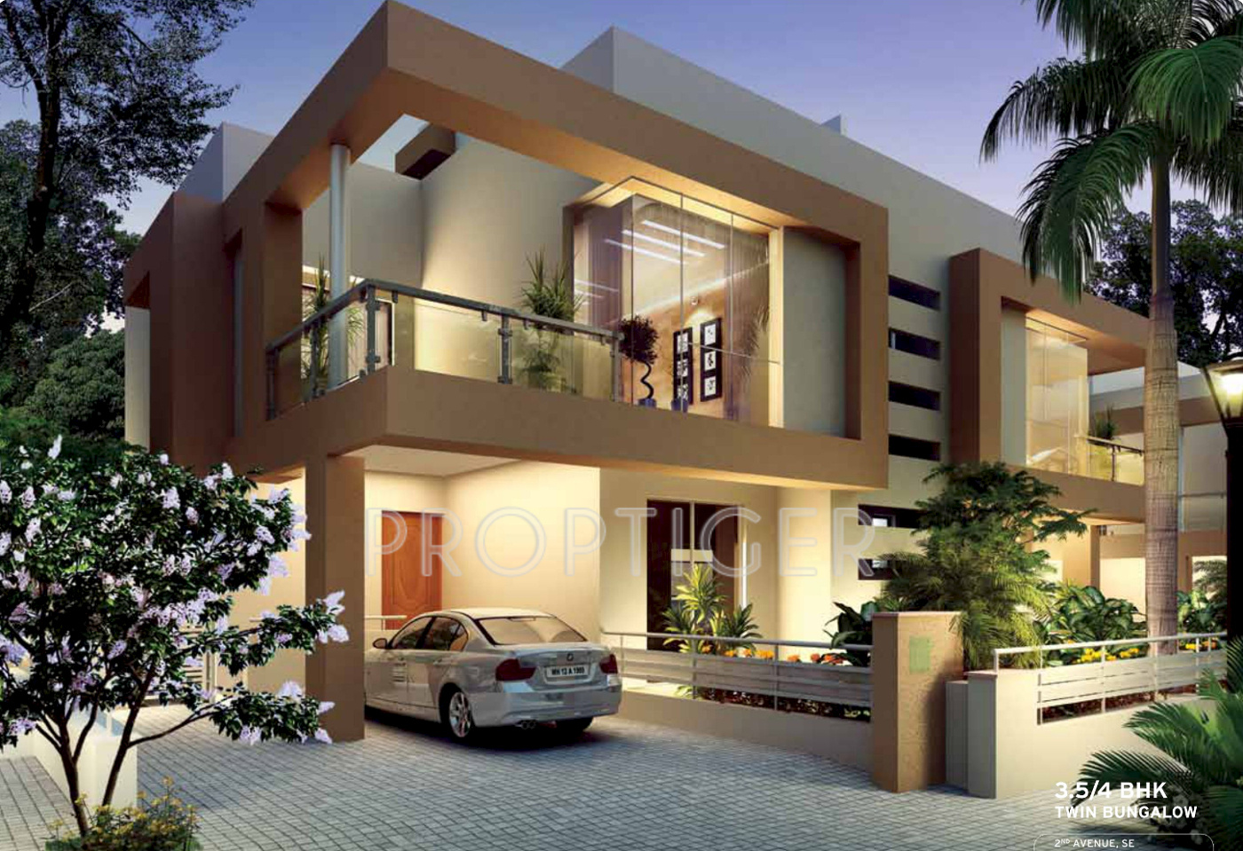 Kolte patil twin bungalows and villa in hinjewadi pune - What is a bungalow ...
