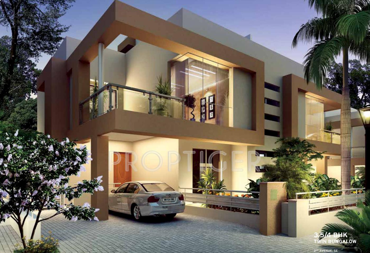 Kolte patil twin bungalows and villa in hinjewadi pune for Villas 2018