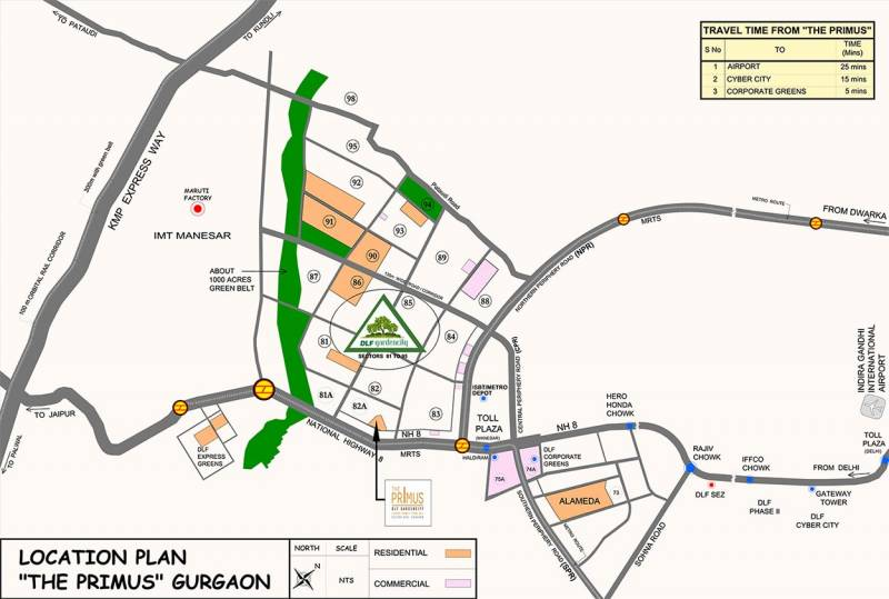 Images for Location Plan of DLF The Primus