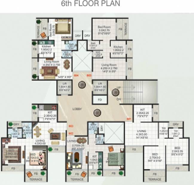 Images for Cluster Plan of Devkrupa Dev Aashirwad