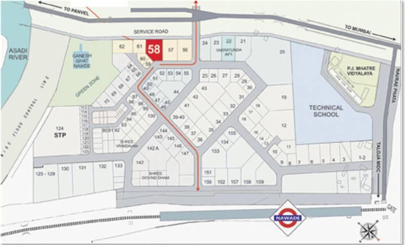 Images for Location Plan of Devkrupa Dev Aashirwad