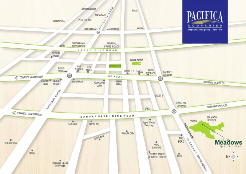Images for Location Plan of Pacifica The Meadows