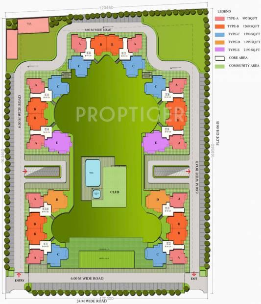 Images for Layout Plan of Sampada Livia