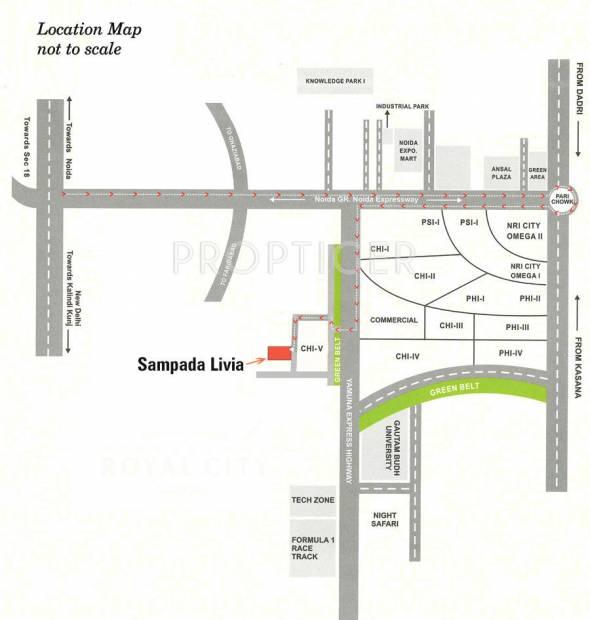 Images for Location Plan of Sampada Livia
