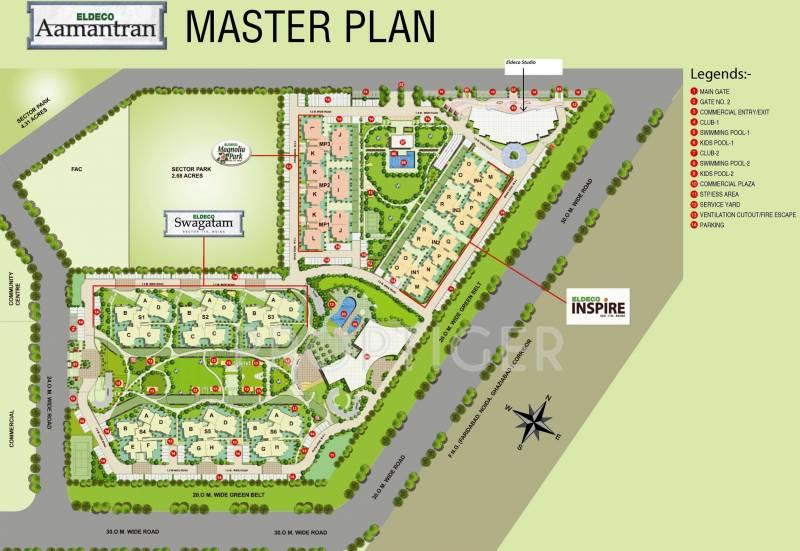 Images for Master Plan of Eldeco Magnolia Park