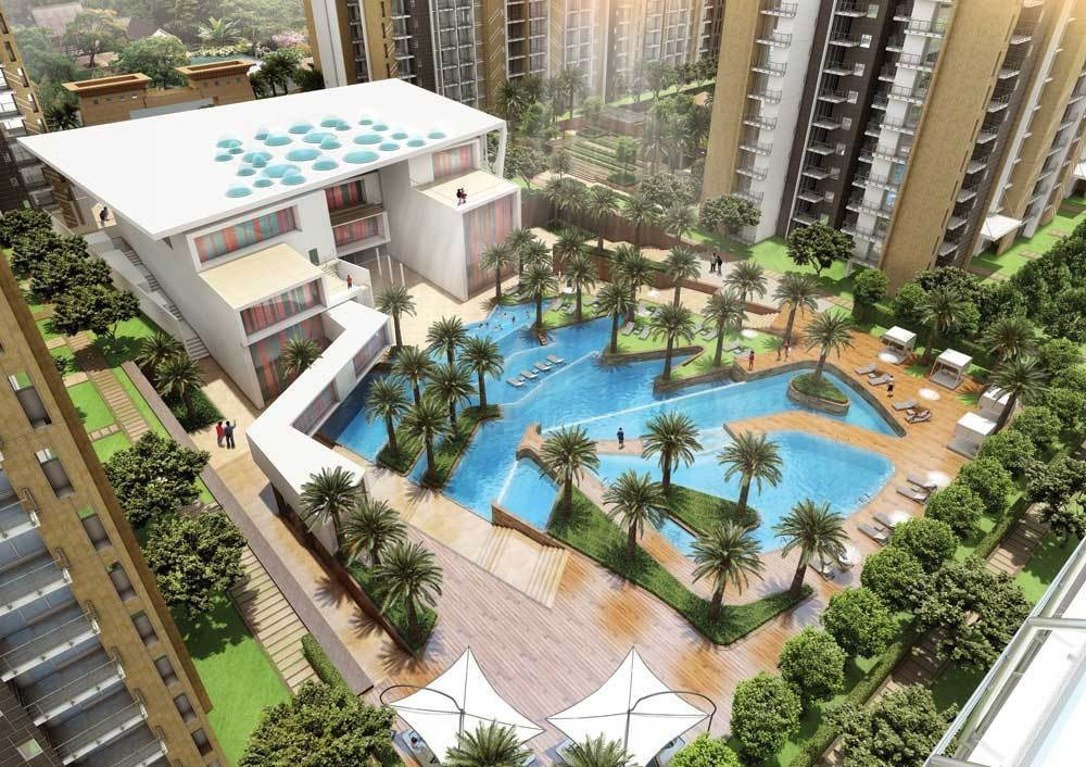 Aba Cleo County In Sector 121 Noida Price Location Map